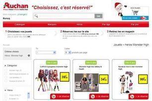 Auchan teste la réservation de jouets / Les actus / LA DISTRIBUTION - LINEAIRES, le mensuel de la distribution alimentaire | Grande distribution et communication | Scoop.it