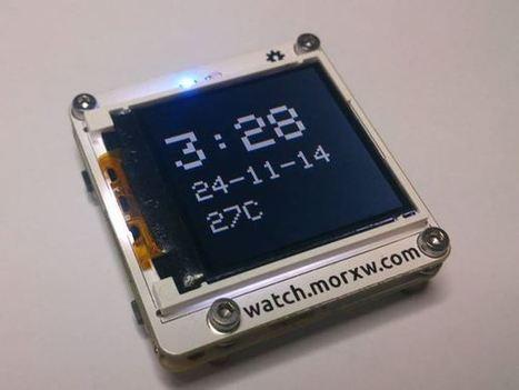 Tardis is an Arduino-compatible smartwatch   Arduino, Netduino, Rasperry Pi!   Scoop.it