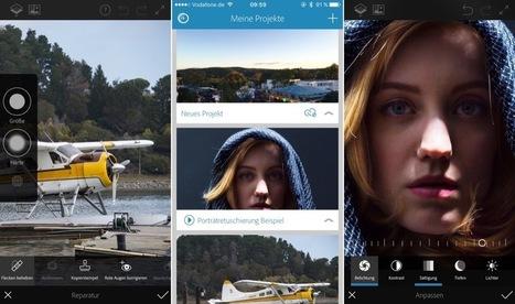 Photoshop Fix und Photoshop Mix: Adobes iOS-Apps nach Update mit Speicheroptimierung | Lernen mit iPad | Scoop.it