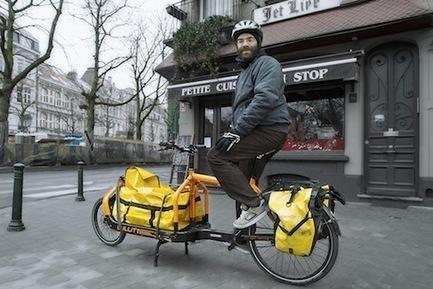 Ils livrent tout, par tous les temps et à l'heure... en vélo ! | L'autre mobilite | Scoop.it