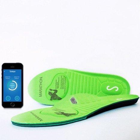 Stridalyzer, les semelles connectées pour vous apprendre à courir. | Semelles | Scoop.it