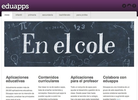 Apple & Educación » Webs para encontrar las mejores apps educativas | BiblioVeneranda | Scoop.it