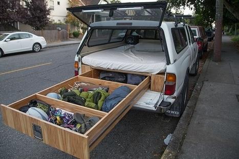 Comment installer un lit dans sa voiture ;-) | DIY | Scoop.it