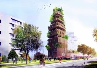Réinventer Paris : les trois projets RETENUS pour la gare Masséna - leJDD.fr | The Architecture of the City | Scoop.it