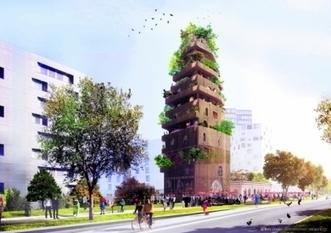 Réinventer Paris : les trois projets RETENUS pour la gare Masséna - leJDD.fr | The Architecture of the City | Scoop.it
