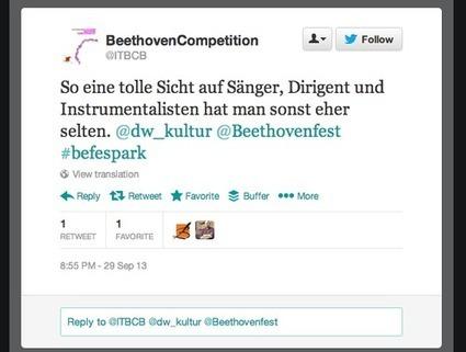 Fidelio getweetet #befespark | Twitter and the Museum | Scoop.it
