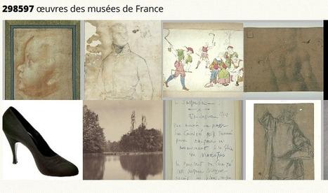 NetPublic » JocondeLab : 300 000 oeuvres des musées de France en ligne avec contributions ouvertes | bib & actualités numériques | Scoop.it