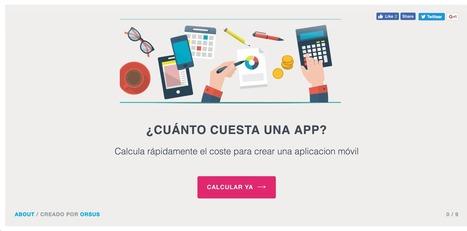 Calcula cuánto valdría diseñar una app | El Mundo del Diseño Gráfico | Scoop.it