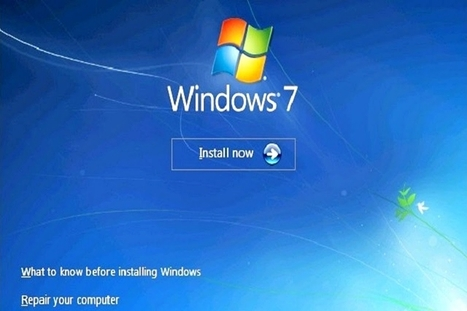 How to install window 7 - A Complete Guide | Tech support and Repair Services | Scoop.it