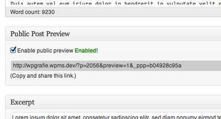 How to Allow Public Post Preview of Unpublished Posts in WordPress | Wordpress is Here... | Scoop.it