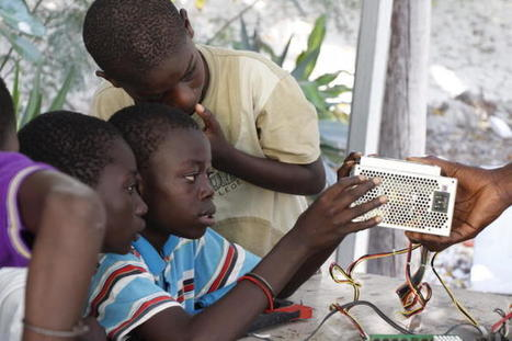 How the Fablab uses e-waste to teach kids about sustainable tech | Jerry, Do It Together | Scoop.it