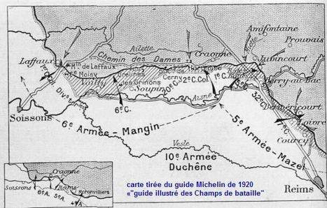 Aisne : le 16 avril, d'hier à aujourd'hui - Journée mémoire à l'occasion de l'anniversaire de l'offensive Nivelle du 16 avril 1917 | Nos Racines | Scoop.it
