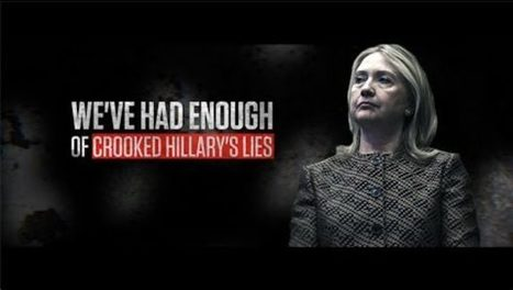 Blistering New RNC Ad: Crooked Hillary Gets Caught Lying Again | Conservative Politics | Scoop.it