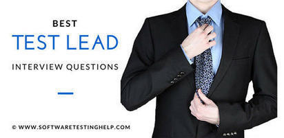 6 Most Common QA Test Lead/Manager Interview Questions (with Answers and our Tips) | QA | Scoop.it