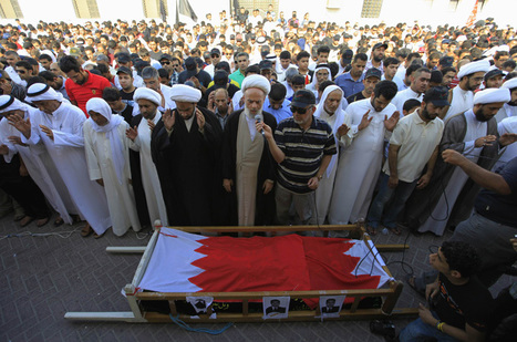 Bahrain forces fire tear gas at funeral - Middle East - Al Jazeera English | Human Rights and the Will to be free | Scoop.it