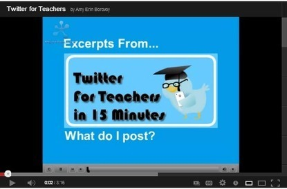 10 Great Video Tutorials on Using Twitter in Education | Educación a Distancia (EaD) | Scoop.it
