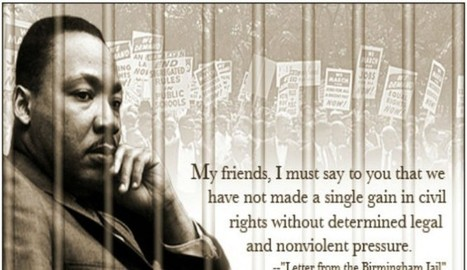 Letter From Birmingham Jail Shows Another Side Of Martin Luther King Jr. - The Inquisitr | The Negatives that were thoughts of good - Turn by the hand of positives. | Scoop.it