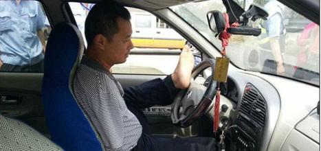 Detienen en China a conductor sin brazos | Seguridad Vial | Scoop.it