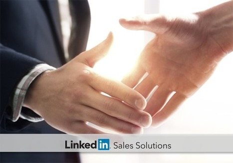 In Social Selling, Building Trust Starts before You Connect | small business marketing review | Scoop.it