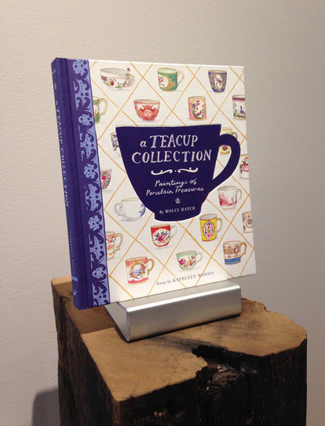 Design Desk: A Behind-The-Scenes Look at the Cover Design Process for A Teacup Collection | book cover design | Scoop.it