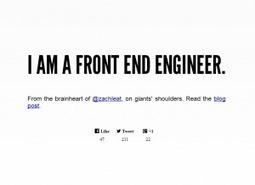 I AM A FRONT END ENGINEER. (我就是一個前端工程師) » lock.gotoBlog() | 前端工程學習資源 | Scoop.it