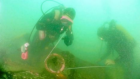 Le Pourquoi pas ?  Les images de l'épave, 80 ans après le naufrage | Histoires d'Epaves | Scoop.it