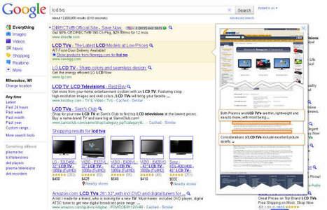 Ecco i test di Google Instant sui risultati AdWords | Social Web | Scoop.it