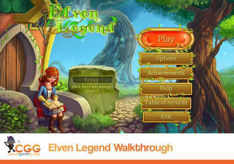 Elven Legend Walkthrough: From CasualGameGuides.com | Casual Game Walkthroughs | Scoop.it