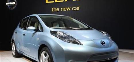 La Nissan Leaf approvisionne les foyers nippons en électricité | LaTribune.fr | Japon : séisme, tsunami & conséquences | Scoop.it