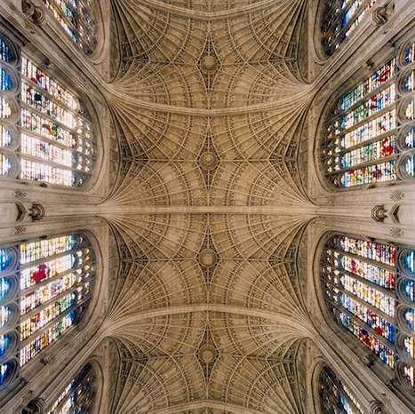 The Geometry of God: The Striking Kaleidoscopic Patterns of European Cathedral Ceilings | Broad Canvas | Scoop.it