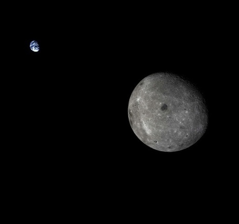 What the Earth Looks Like From the Far Side of the Moon   Outbreaks of Futurity   Scoop.it