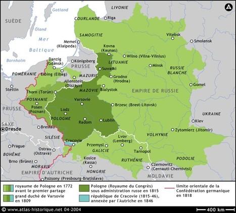 ATLAS HISTORIQUE - Cartographie & Histoire de 1815 à nos jours | Nos Racines | Scoop.it