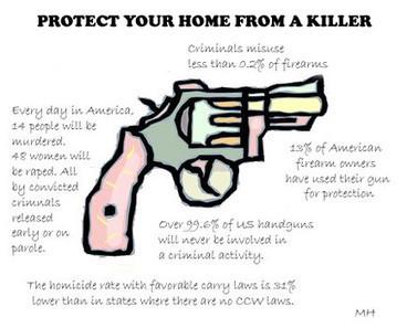 Scary gun statistics | Kameron-Current Issues | Scoop.it