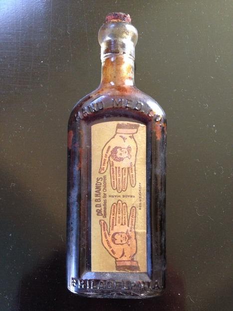 Antique Dr. D. B. Hand Bottle | Antiques & Vintage Collectibles | Scoop.it