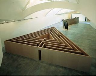 Robert Morris: Untitled (Triangular Labyrinth)   Art Installations, Sculpture, Contemporary Art   Scoop.it