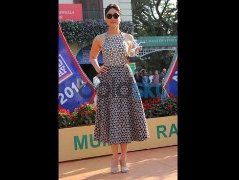 Stylish Celebs At Mid Day Trophy Race: Pics | event dresses and jewelry | Scoop.it