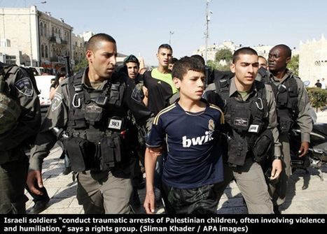Children burned with cigarettes by Israeli soldiers in illegal settlement | Syria | Scoop.it