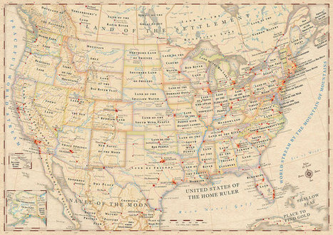 Infographic: The Literal Meaning Of Every State Name In The U.S. | visual data | Scoop.it