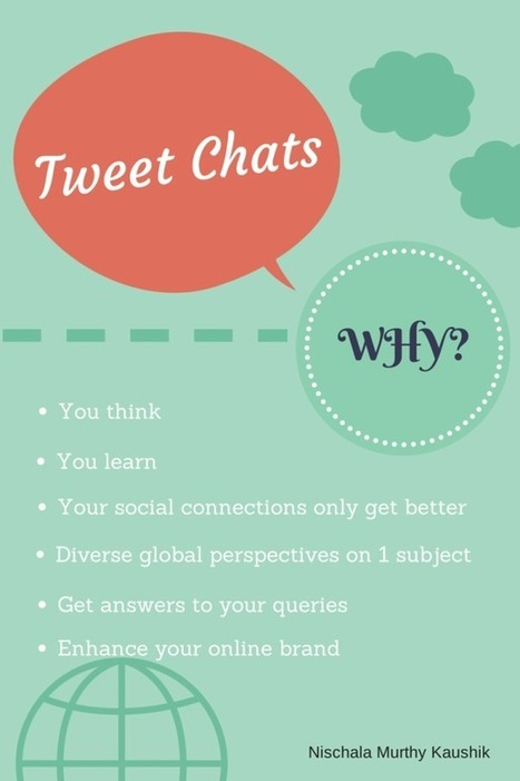 6 Reasons To Participate In Tweet Chats | Creating Personalized Learning Environments | Scoop.it