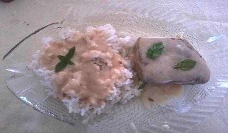 Steak de thon en sauce-Édith et sa cuisine   w3p-annuaire.com   Scoop.it