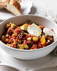 Speedy Ratatouille with Goat Cheese Recipe | À Catanada na Cozinha Magazine | Scoop.it