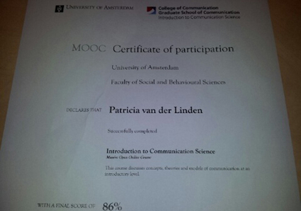 Leren via een MOOC, hoe is dat? - Kennisnet | Online Educatie | Scoop.it