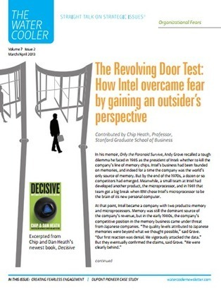 The Revolving Door Test: How Intel overcame fear by gaining an outsider's perspective | Better coaching | Scoop.it