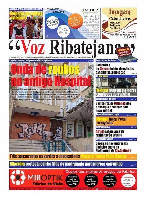 Está aí mais uma edição do VOZ RIBATEJANA   Xira News   Scoop.it