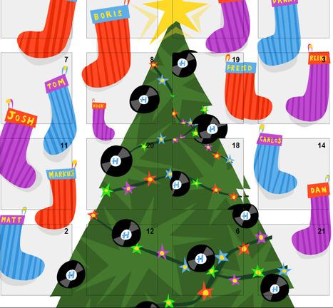 Fantastic Hospital Records D'nB Advent Calendar. WOOO! | Matmi Staff finds... | Scoop.it