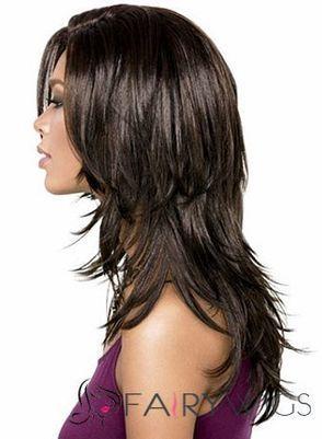 European Style Medium Wavy Sepia African American Lace Wigs for Women : fairywigs.com | African American Wigs | Scoop.it