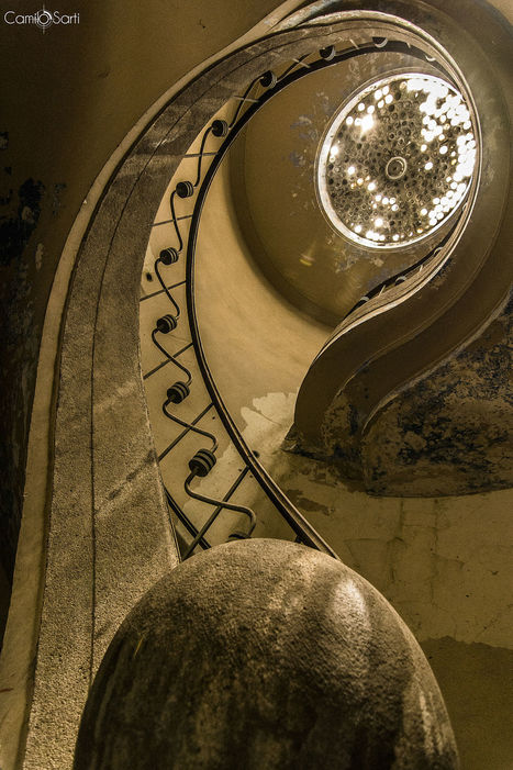 Spiral staircase by Camilo Sarti | My Photo | Scoop.it