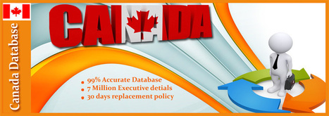 The importance of Canada business database - Data Prospects | Executive Database | Scoop.it