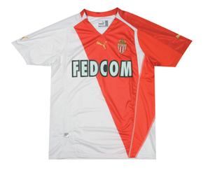 Monaco Home 05/06 | Monaco football club Dresses | Scoop.it