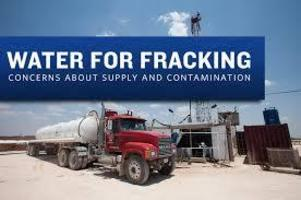 FRACKING AWAY OUR WATER: Poisoning Our Dwindling water supplies